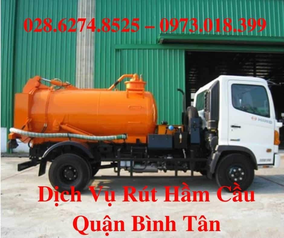 Rút hầm cầu Huyện Bình Tân