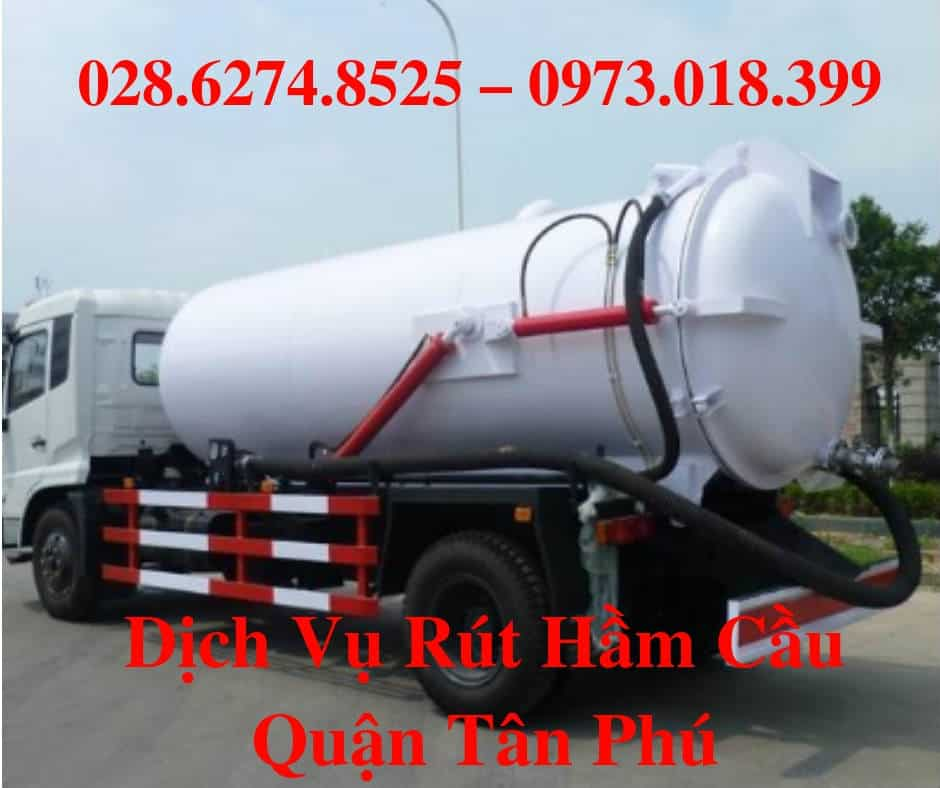 Rút hầm cầu quận Tân Phú