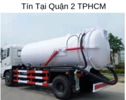 Dịch Vụ Rút Hầm Cầu Giá Rẻ Uy Tín Tại Quận 2 TPHCM