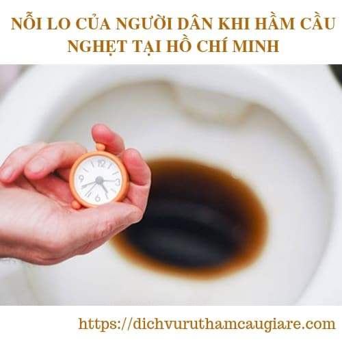 NỖI LO CỦA NGƯỜI DÂN KHI HẦM CẦU NGHẸT TẠI HỒ CHÍ MINH