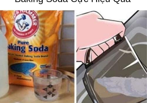 3 Cách Thông Cống Nghẹt Bằng Baking Soda Cực Hiệu Quả