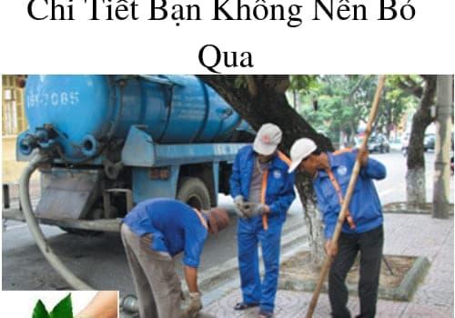 Báo Giá Rút Hầm Cầu TPHCM Chi Tiết Bạn Không Nên Bỏ Qua