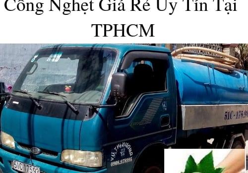 Công Ty Dịch Vụ Thông Cầu Cống Nghẹt Giá Rẻ Uy Tín Tại TPHCM