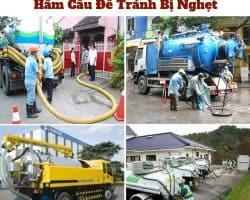 Dịch vụ thông cống - hút hầm cầu - hố ga giá rẻ tại TPHCM